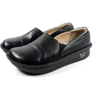Alegria Debra Slip On Leather Loafer Nursing Clog